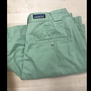 Patagonia Sage Green Shorts